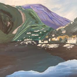 12A_Purple Mountains_Acrylic