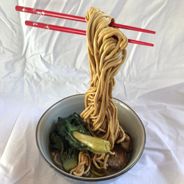 23C_Noodle Bowl_sculpey clay resin acrylic paint_6x9