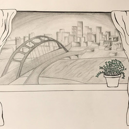 51B_Room With A View_Pencil,Sharpie