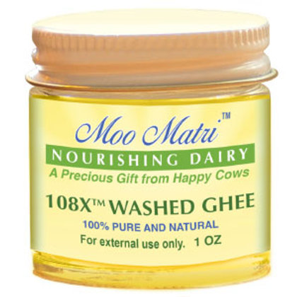 108X(TM) Washed Ghee 1 ounce bottle