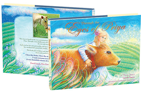 Through the Eyes of Priya—Beautifully illustrated book will warm your heart.