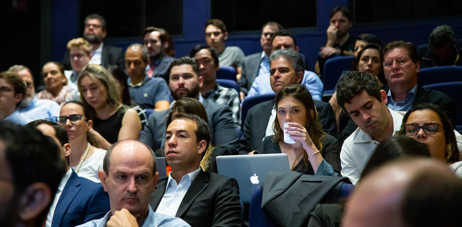 Plateia do evento
