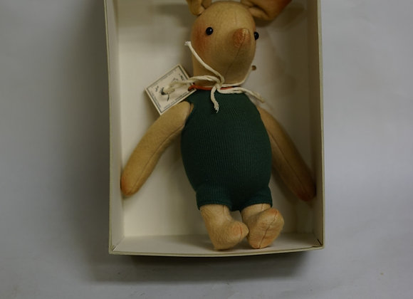 Original Vintage R John Weight Life Size Piglet Limited Edition Doll