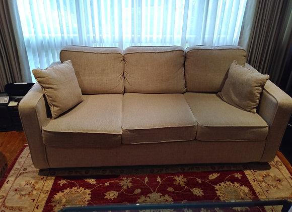 3 Seat Neutral Tone Sofa