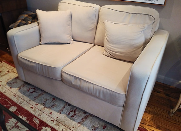 Micro Suede Love Seat