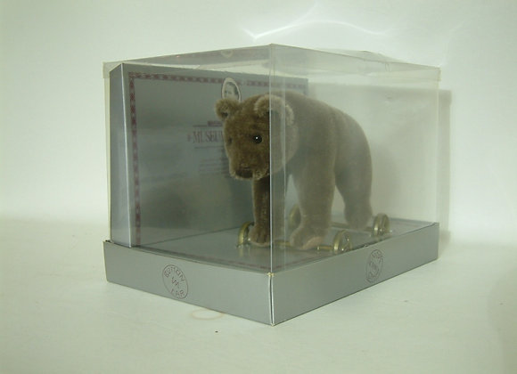 Steiff Bear On Wheels Musuem Collection Toy