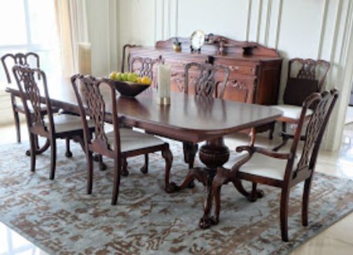 Chippendale Reproduction Dining Set