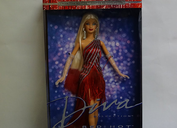 Original Collectible Red Hot Barbie Doll In Box