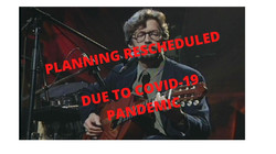 PLANNING RESCHEDULED DUE TO COVID-19 PAN