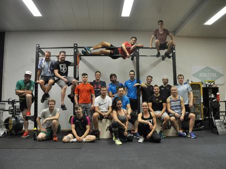 Zielgerade - Athletik Training mit dem EHC Mirchel