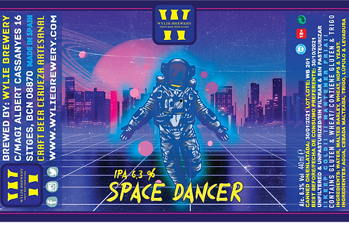 SPACE DANCER (IPA) 440ml.