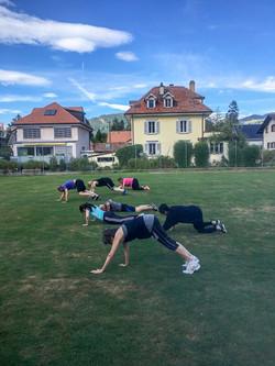 Outdoor Training Thun