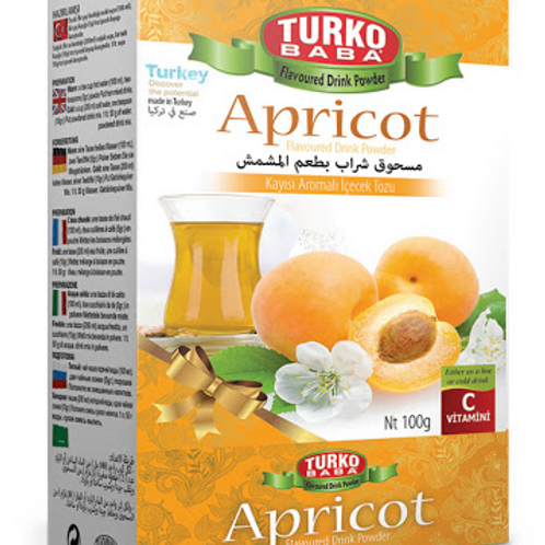 60 x APRICOT FLAVOURED DRINK POWDER , 200 GR T298