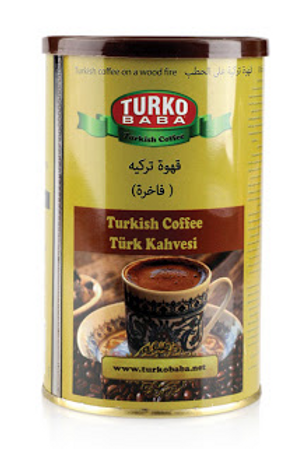 12 x CANISTER TURKISH COFFEE , 250 GR K239