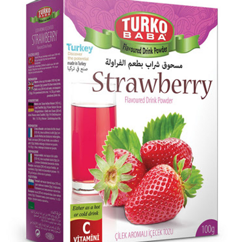 24 x STRAWBERRY  FLAVOURED DRINK POWDER , 500 GR T316