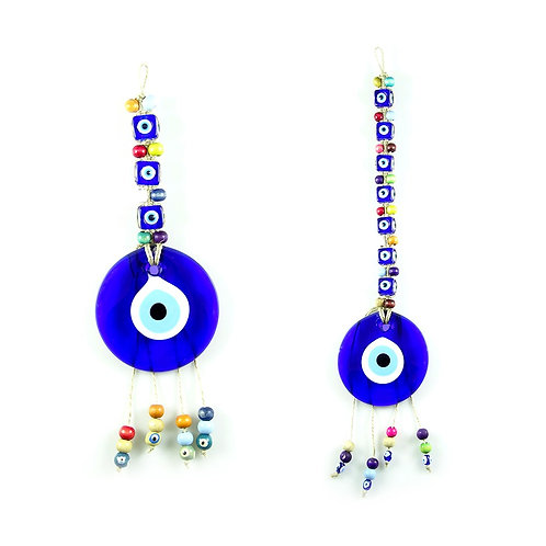 100x ASSORTED EVIL EYE WALL HANGING