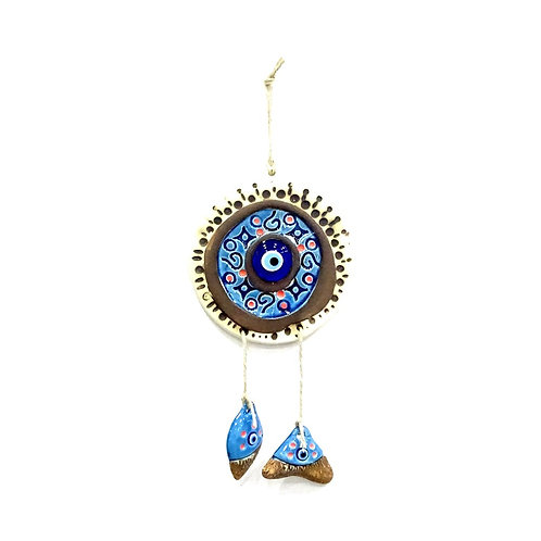 50x EVIL EYE CERAMIC WALL HANGING