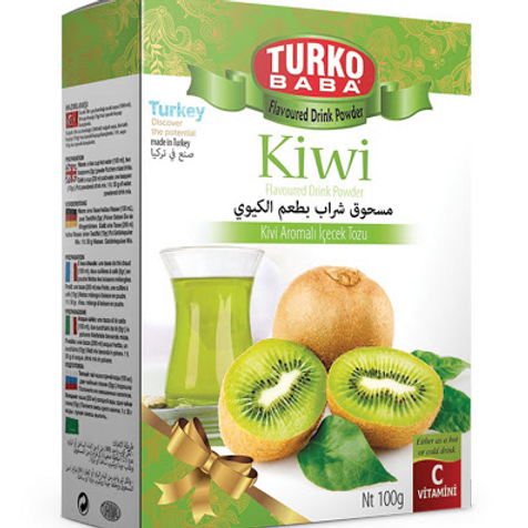 100 x KIWI FLAVOURED DRINK POWDER , 100 GR T305