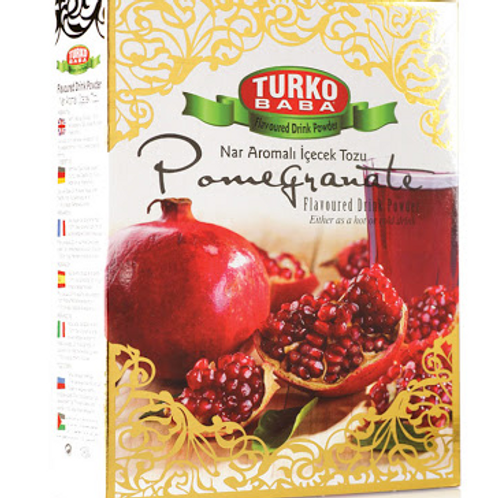 24 x POMEGRANATE FLAVOURED DRINK POWDER GILDED BOX , 300 GR T267
