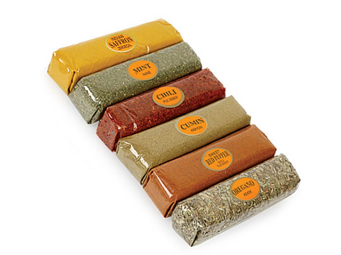 20X Acetate Spice Set, 6 Section, S640