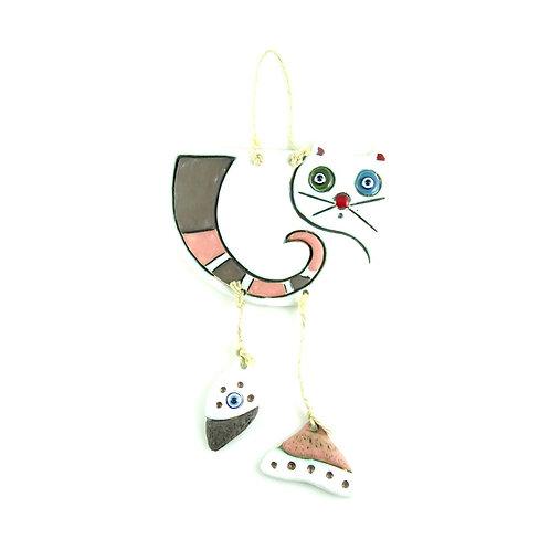 50x CAT CERAMIC WALL HANGING