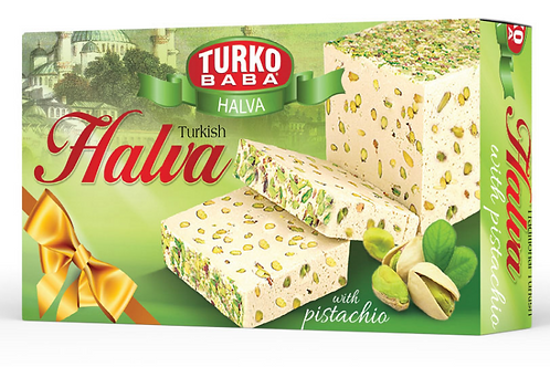 12 x BIG HALVA WITH PISTACHIO , 400 GR H426
