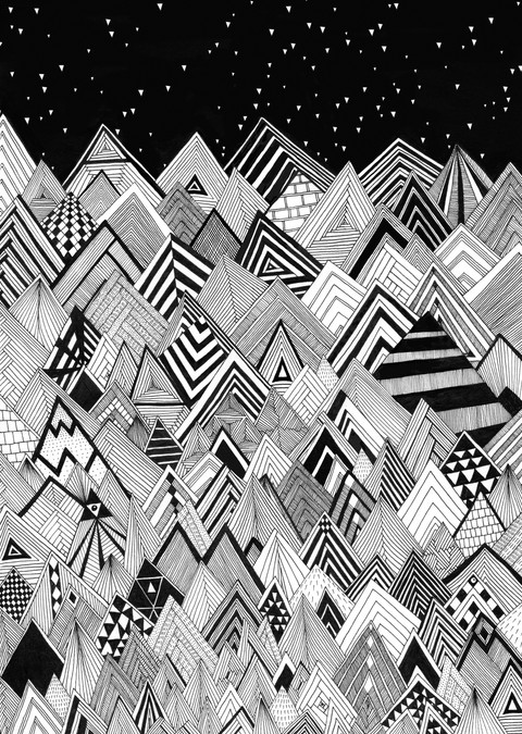 Artist Julian Henderson returns to illustration and design in a big way!