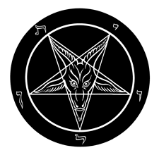 "The Church of Satan's ""Sigil of Baphomet"" comes to Rabid Crow"