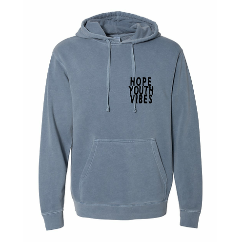 'Spread Love' Pigment Dyed Hoodie