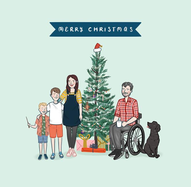 family portrait dog christmas tree.jpg
