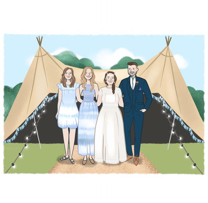 festival wedding siblings portrait.jpg