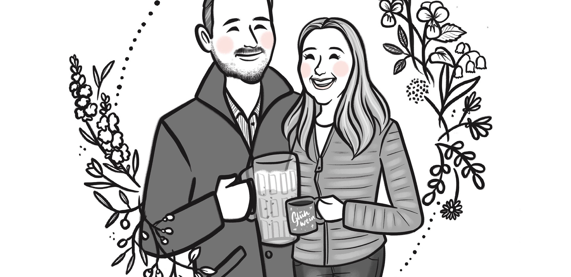 bw beer couple portrait.jpg