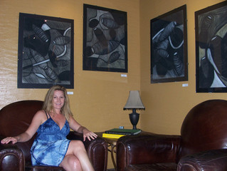 My first Gallery Opening July 2009