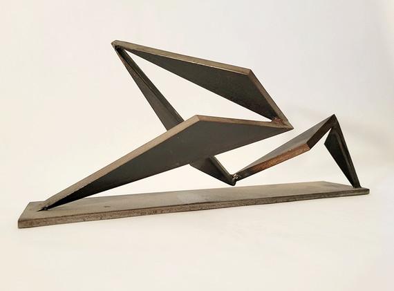Steel Sculpture  Maquette