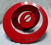 ted phillip denton_metal sculpture_red s