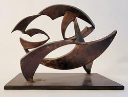 sculpture artist-john neumann-untitled II-maquette-800pxl