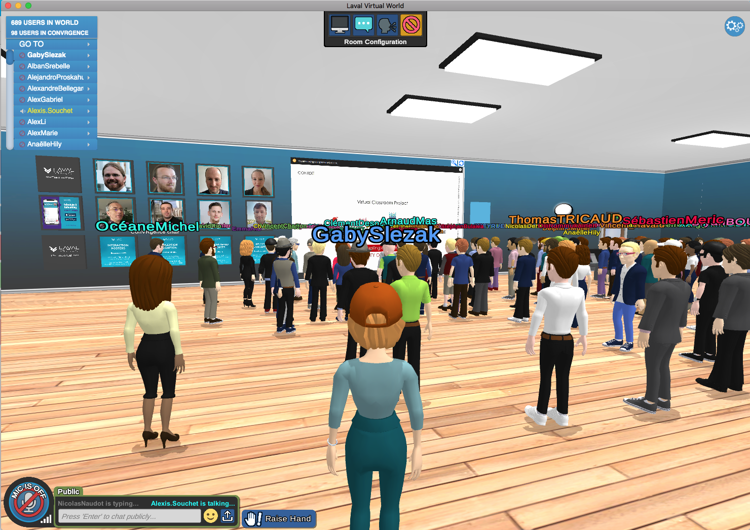 Virtual Lecture Hall