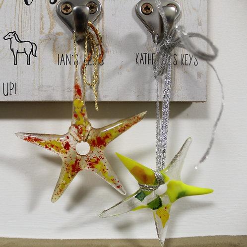 29/11 Seasonal Fused Glass Decorations