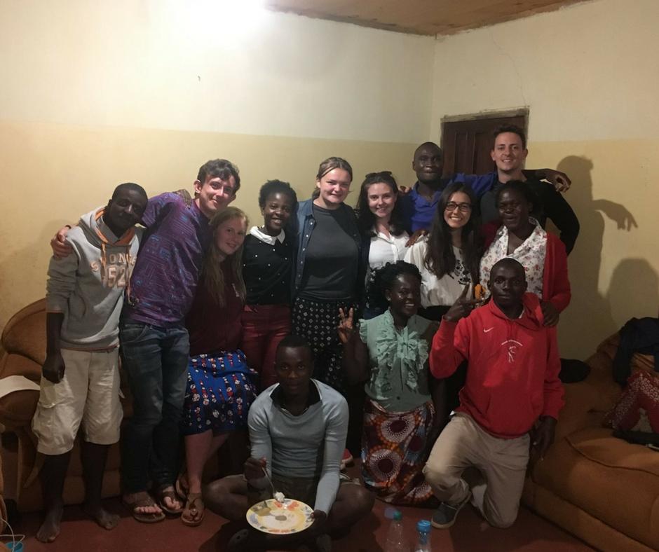 Dinner in Malawi