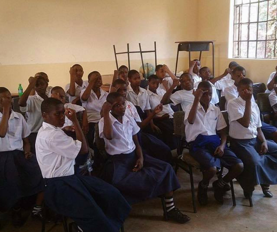 First aid in Swahili sign language
