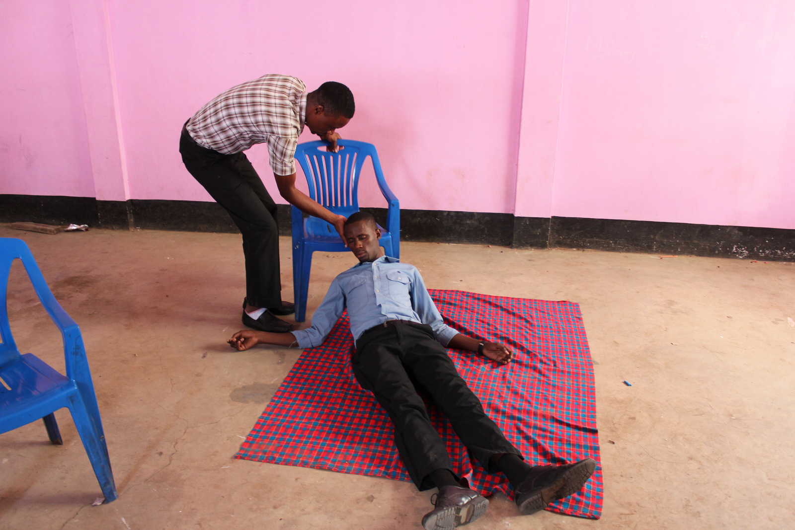 Demonstrating seizure treatment
