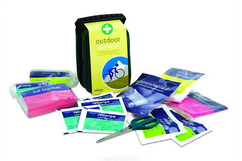 Outdoor adventure first aid kit