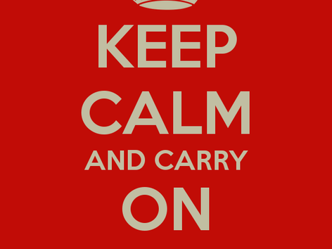 Keep Calm and Carry on Trading!