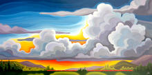Glorious and Free! 30x60 (#18-011)