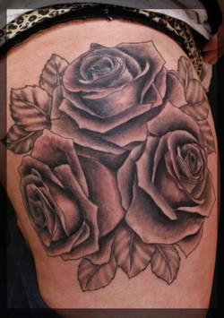 Roses Tattoo,tattoo studio in dublin