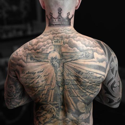 Full back Tattoo