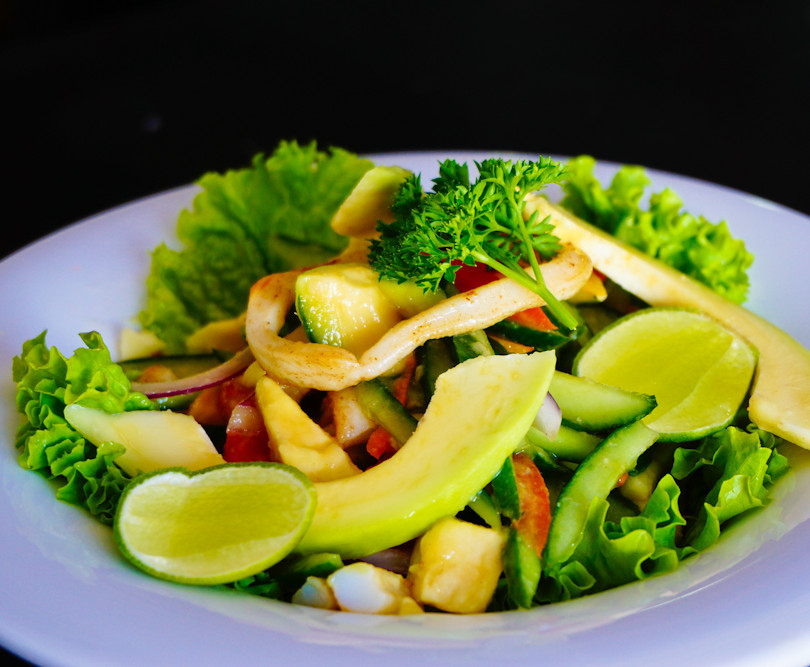 Seafood Avocado Salad