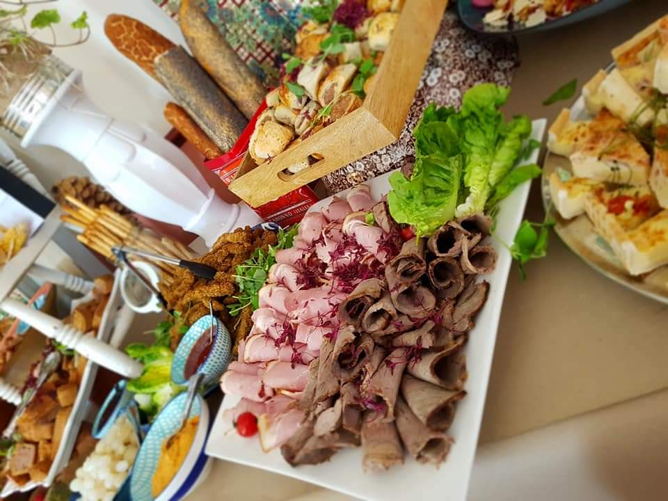Examples of Grazing Tables and Buffets