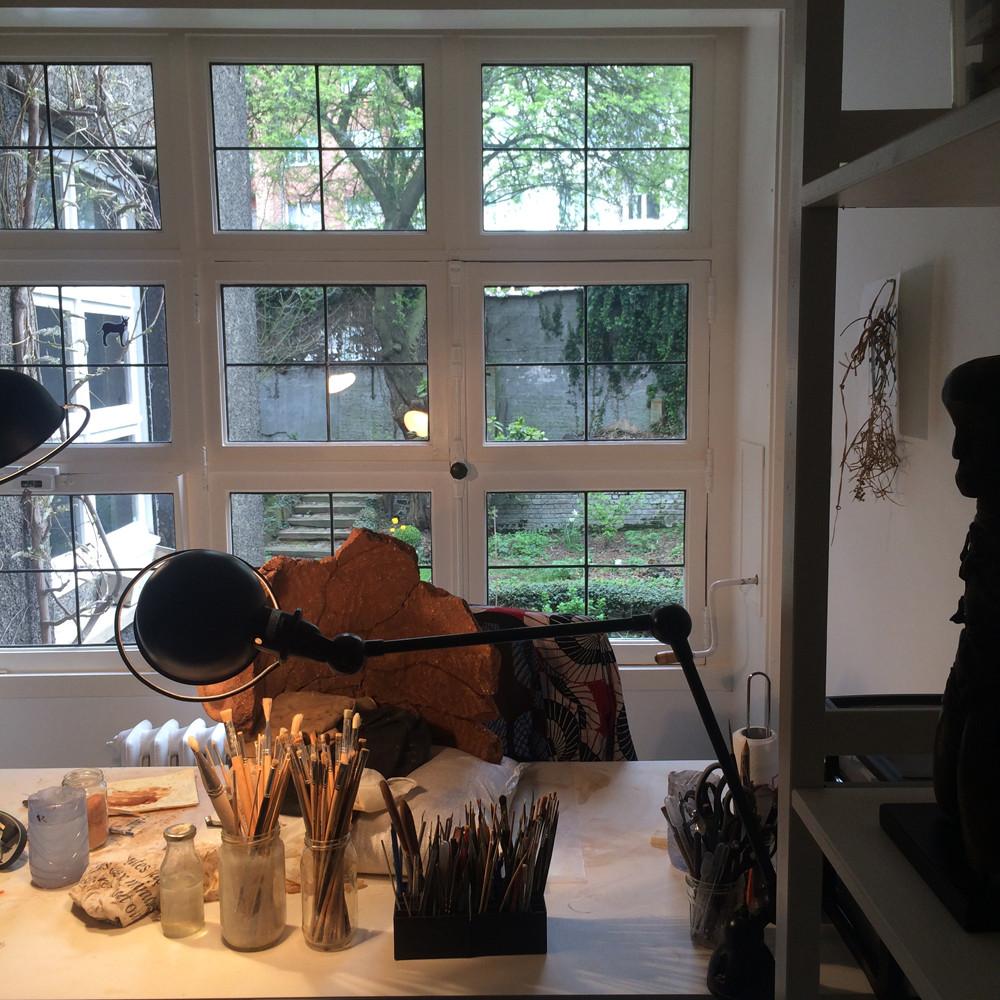 L'atelier d'Anne-Catherine Kenis