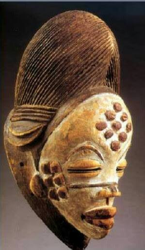 Masque Punu (3). Ex-galerie M. Keita